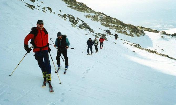 Icicle High Tatras Ski Tour Slovakia