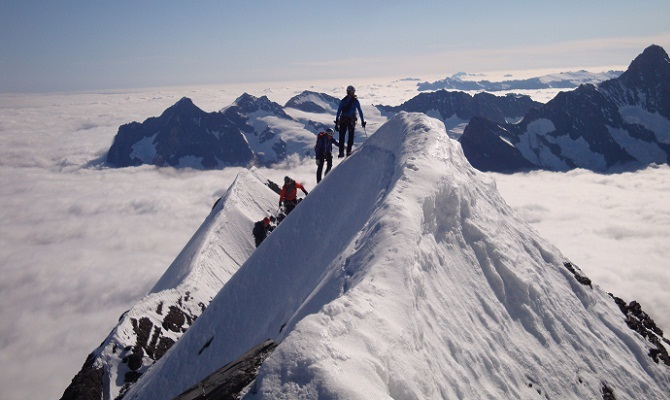 Icicle Climb Mont Blanc Eiger And Matterhorn Course Over